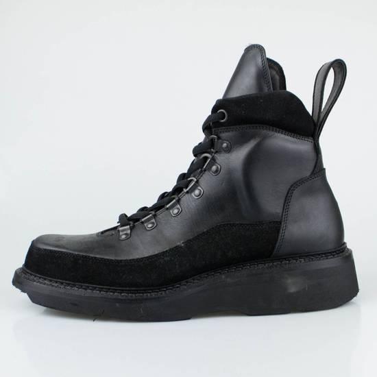 Julius 7 Black Cow Nubuck Leather Ankle Boots Shoes Size US 11 / EU 44 - 2