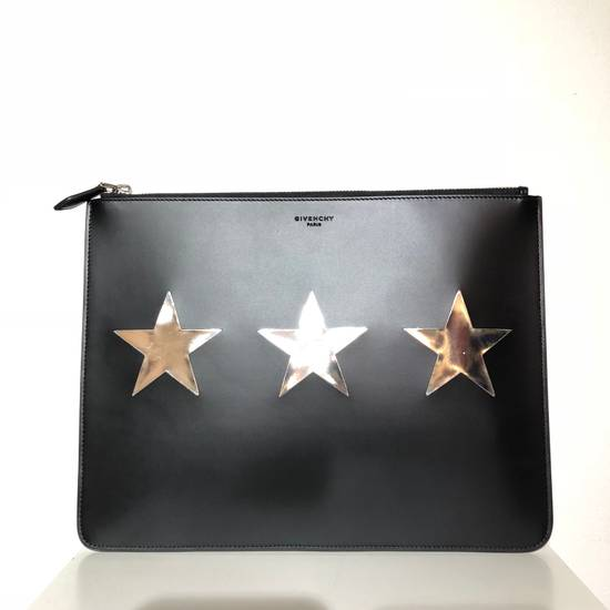 Givenchy 3 Star Leather Pouch Bag Size ONE SIZE