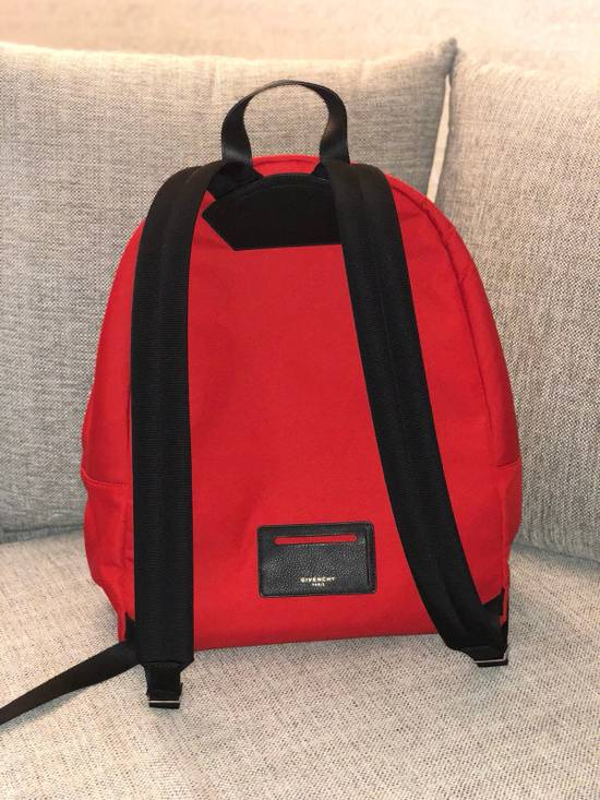 Givenchy Red Givenchy Backpack LIMITED EDITION Size ONE SIZE - 3