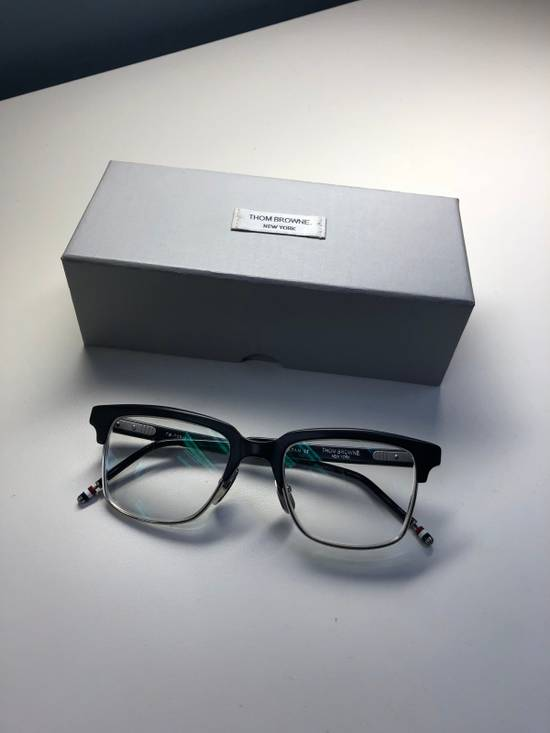 Thom Browne TB 709 A BLK SLV Size ONE SIZE