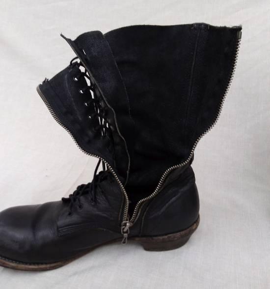 Julius f/w09 Tall Combat Boots Black Size US 11 / EU 44 - 7
