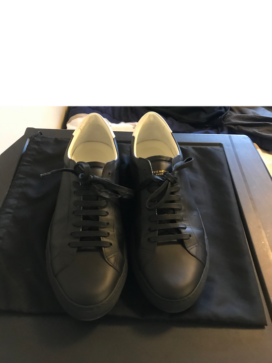 Givenchy Black Urban Street Sneakers Size US 11 / EU 44