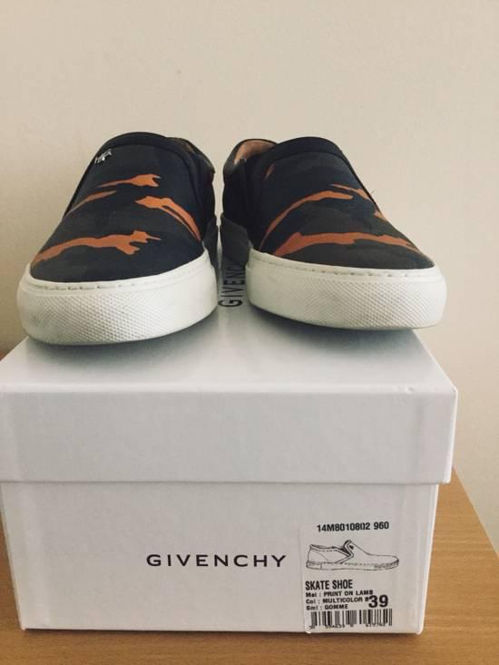 Givenchy Givenchy Orange Camo Leather Skater Shoes - 39 Size US 7 / EU 40 - 1