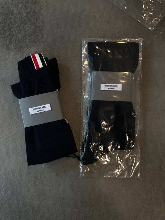 Thom Browne **LAST DROP** Ribbed Knee High Sock W/ 4 Bar Stripe Size ONE SIZE - 3