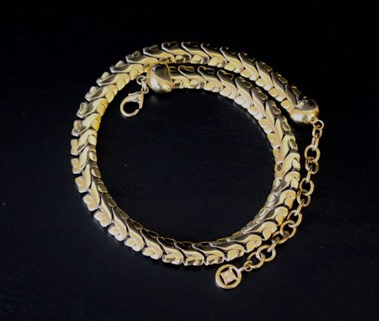 Givenchy Gold Plated Serpentine Chain Size ONE SIZE