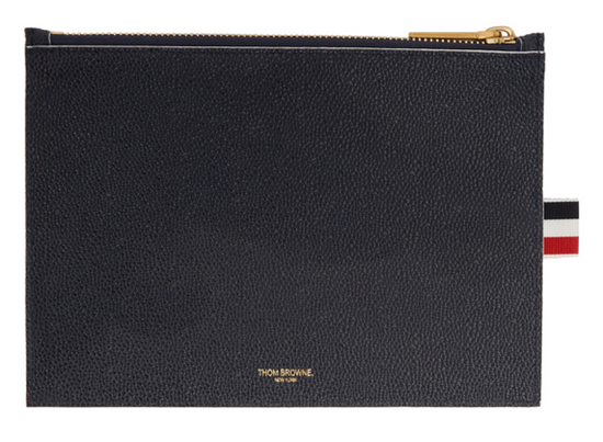Thom Browne Thom Browne TENNIS POUCH ***navy_$820 obo_large_DEADSTOCK*** Size ONE SIZE - 1
