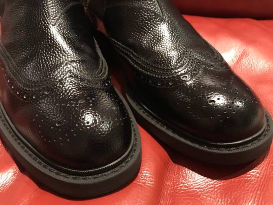 Givenchy Double Zip Wingtip Chelsea Boots Size US 9.5 / EU 42-43 - 16