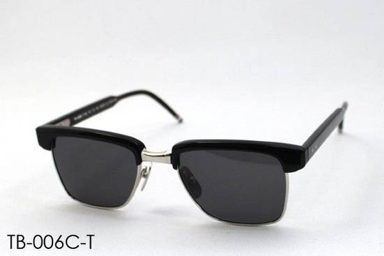 Thom Browne Sunglasses tb006c-t 50/19 145 New Black Silver $800 Size ONE SIZE - 1