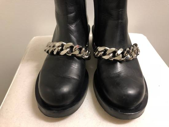 Givenchy Chain Leather Ankle Boots Size US 7 / EU 40 - 4