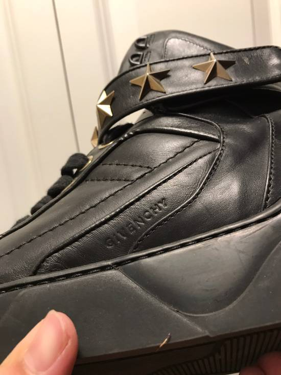 Givenchy Tyson Star Sneaker Black Gold Star Size US 11 / EU 44 - 9