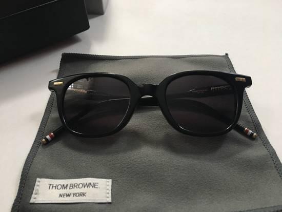 Thom Browne TB-405-A-T Black w/Deep Grey AR lens Size ONE SIZE - 8