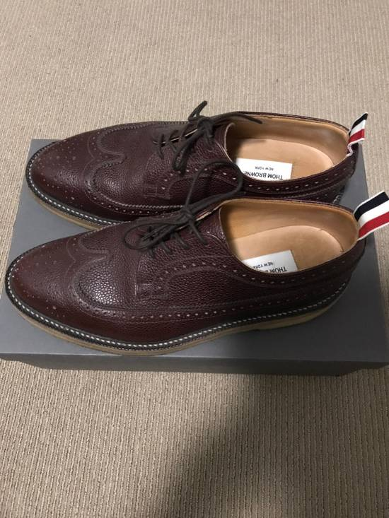 Thom Browne Long Wing Brogues Size US 9 / EU 42 - 2