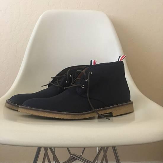 Thom Browne canvas chukka desert boots navy Size US 11 / EU 44 - 1