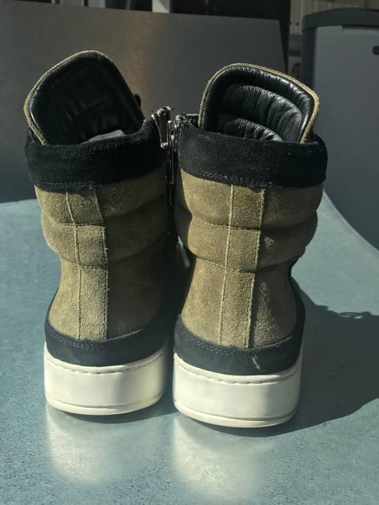 Balmain Balmain x H&M Hi-Top Sneaker Size US 11 / EU 44 - 4