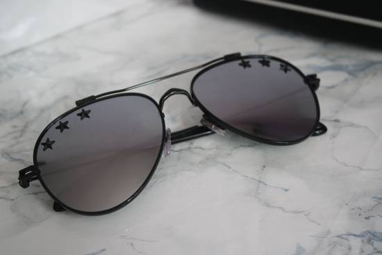 Givenchy NEW Givenchy GV7057/S 7057 Star Aviator Silver Mirrored Sunglasses Size ONE SIZE - 4