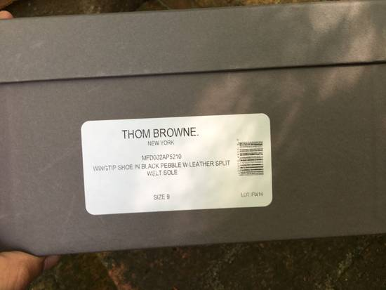 Thom Browne Pebble Grain Longwing Brogues - us 9 Size US 9 / EU 42 - 1