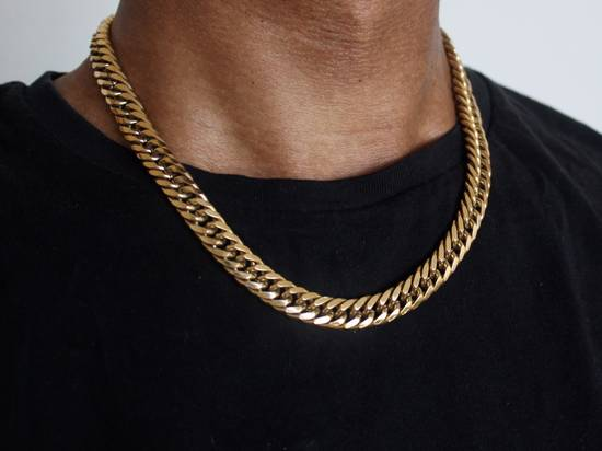 Givenchy Gold Plated Curb-Link Chain Size ONE SIZE
