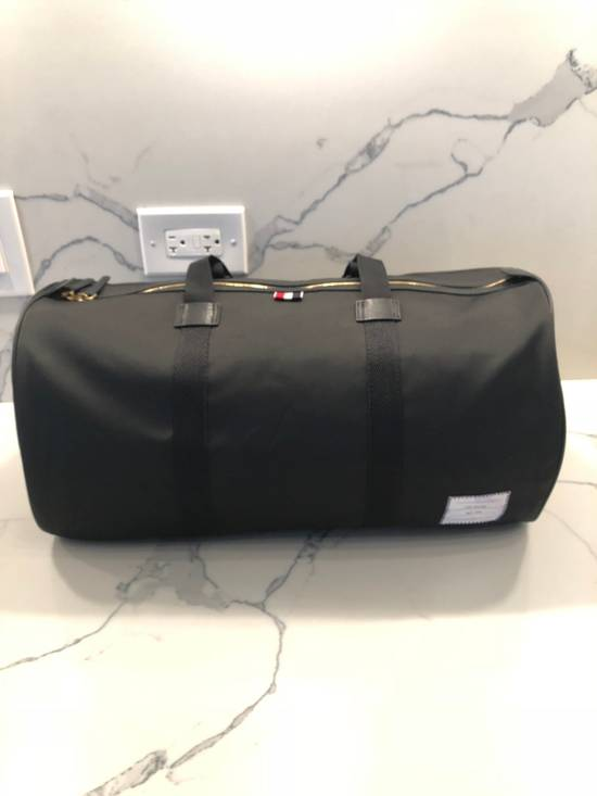 Thom Browne Gym Duffle Bag- Unstructured In Nylon Size ONE SIZE