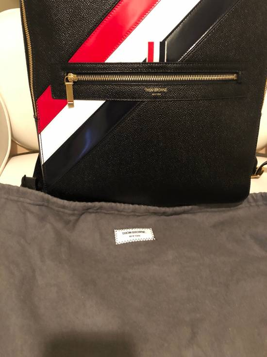 Thom Browne diagonal stripe backpack Size ONE SIZE - 3