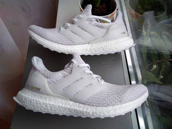 c7297010f3cd ... Adidas Adidas Ultra boost 3.0 women womens girl white pearl grey under  retail Size US 8.5 ...