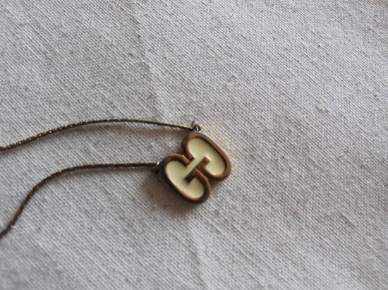 Givenchy Gold Plated Double G Necklace Size ONE SIZE - 1