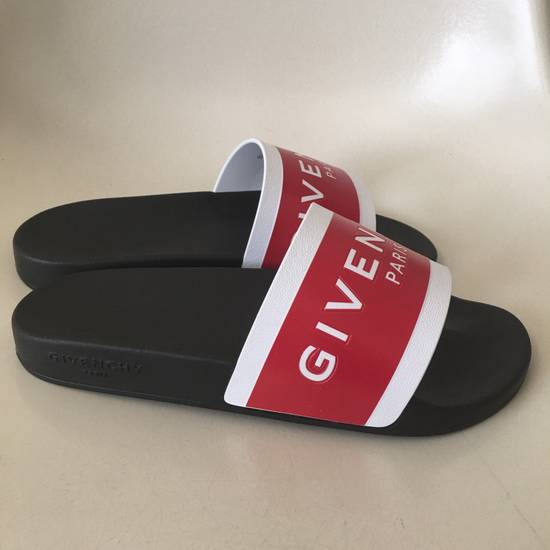 Givenchy rubber slides red Size US 9 / EU 42 - 2