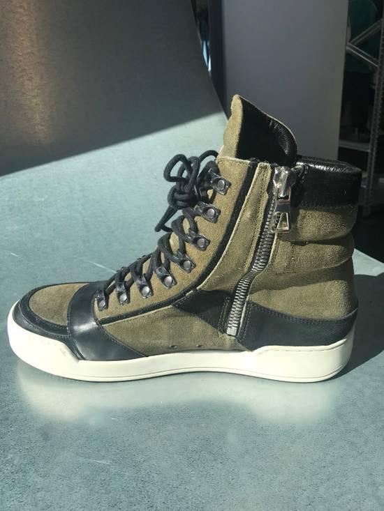 Balmain Balmain x H&M Hi-Top Sneaker Size US 11 / EU 44 - 2