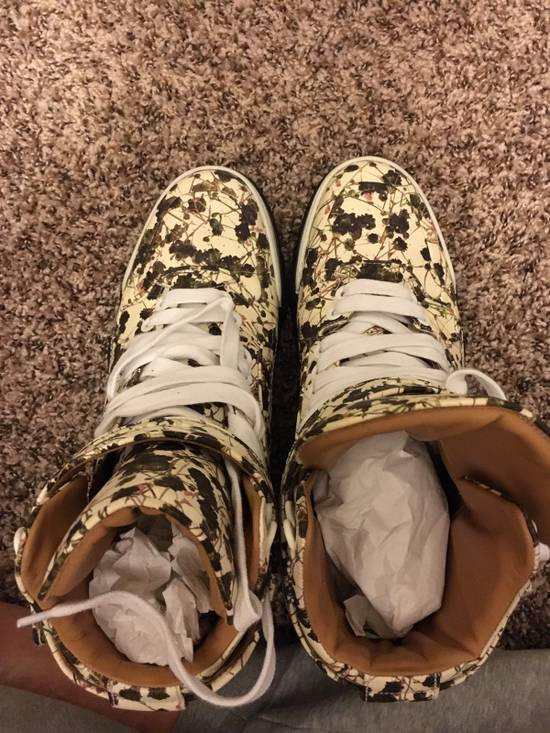Givenchy Givenchy Floral High Top Sneakers Size US 10 / EU 43 - 4