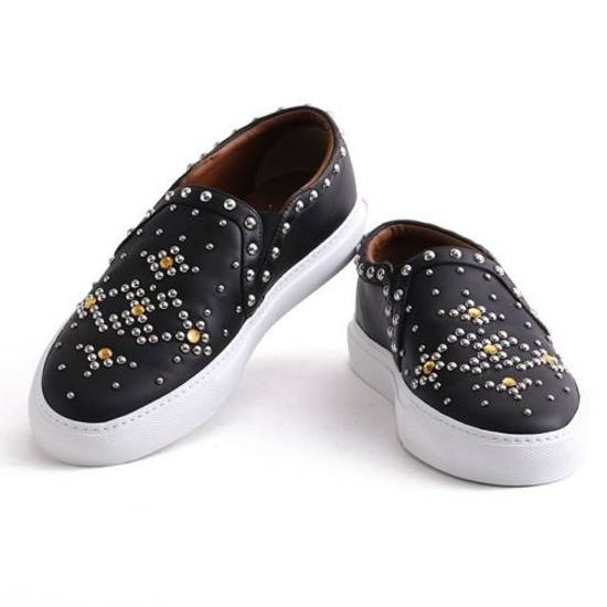 Givenchy Rare Studded Slip on Sneakers Size US 12 / EU 45 - 2
