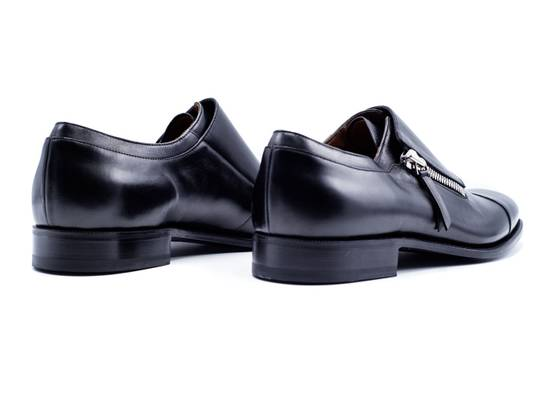 Givenchy Givenchy Maximiliano Black Zipped Monk Strap Loafers Shoes Size US 6 / EU 39 - 2