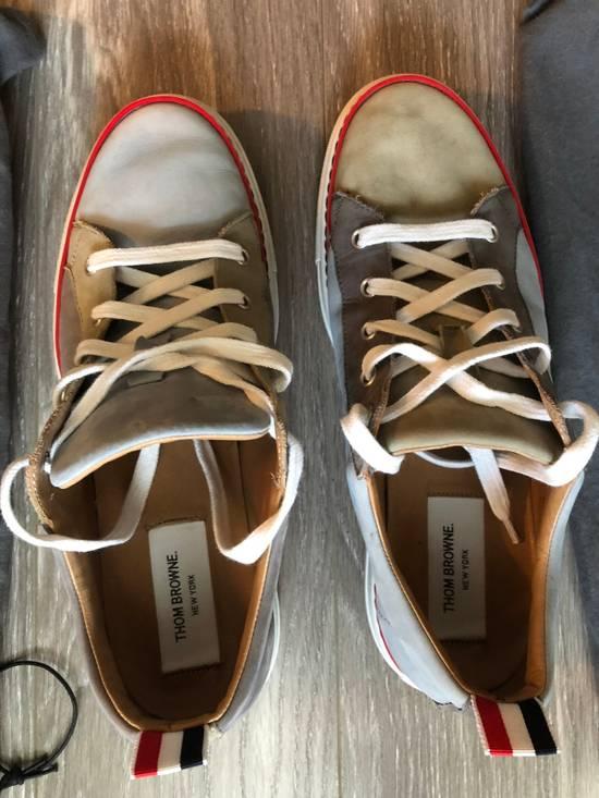 Thom Browne Multi Color Calf Leather Sneaker Size US 8 / EU 41 - 5