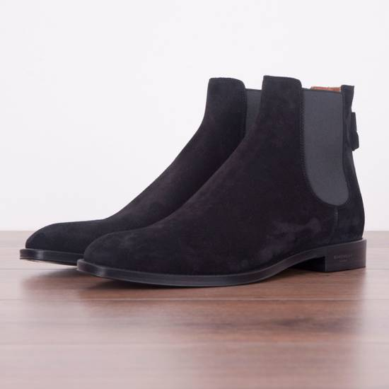 Givenchy SS18 New Suede Chelsea Boots With Back Zip Size US 8.5 / EU 41-42 - 2