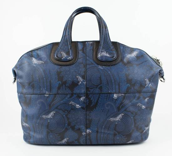 Givenchy Men's Blue/Black Leather Nightingale Paisley Carry On Bag Size ONE SIZE - 2