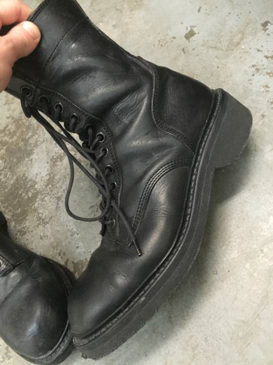 Julius LAST DROP 11-Hole Sidezip Combat Boots Size US 9 / EU 42 - 8