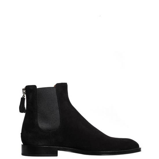 Givenchy SUEDE BOOTS WITH BACK ZIP Size US 7 / EU 40 - 1