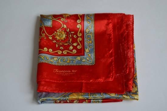 Balmain rare vintage polyester satin scarf/handkerchief Size ONE SIZE - 3