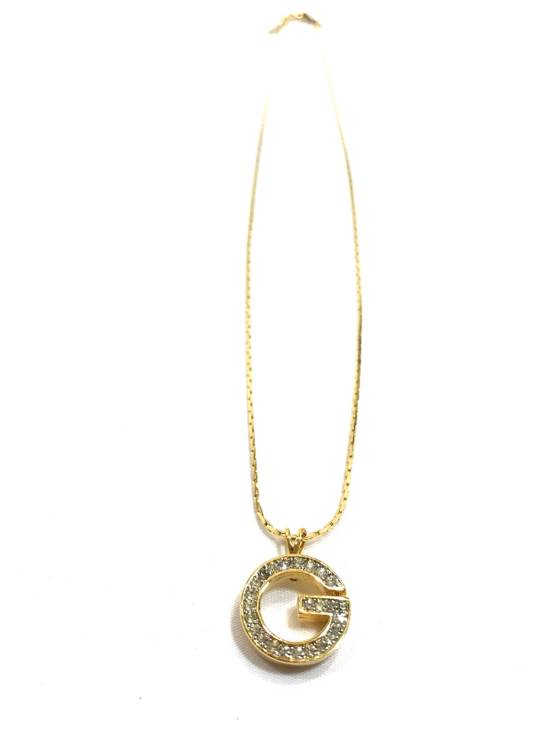Givenchy Iced Out 'G' Chain Size ONE SIZE - 2