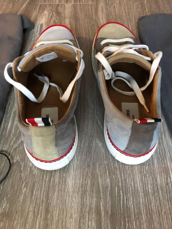 Thom Browne Multi Color Calf Leather Sneaker Size US 8 / EU 41 - 4