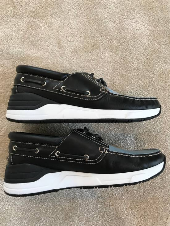 Givenchy Givenchy Denim And Black Leather Shoes Size 45 Size US 12 / EU 45 - 5