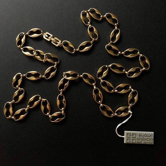 Givenchy Gold Plated Authentic Givenchy Chain Size 38