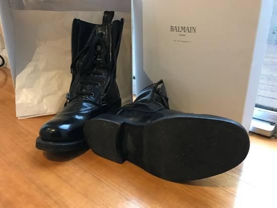 Balmain Giuseppe Zanotti double zippers leather boots Size US 10 / EU 43 - 5