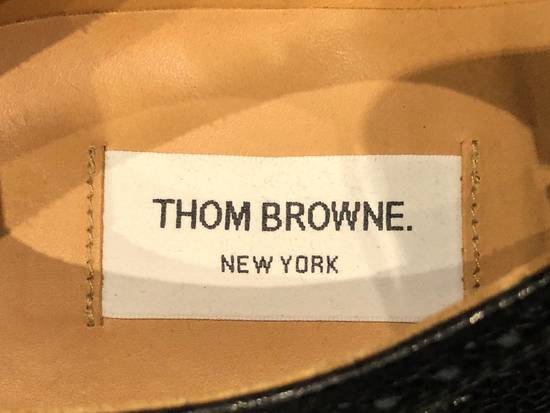 Thom Browne Classic Longwing Brogues with Leather Sole in Pebble Grain Size US 9 / EU 42 - 7