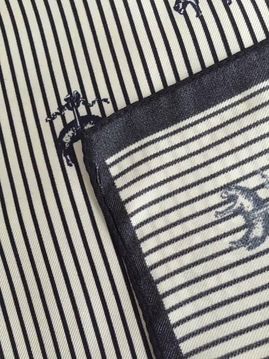 Thom Browne Black Fleece Logo Pocket Square NWT Size ONE SIZE - 6