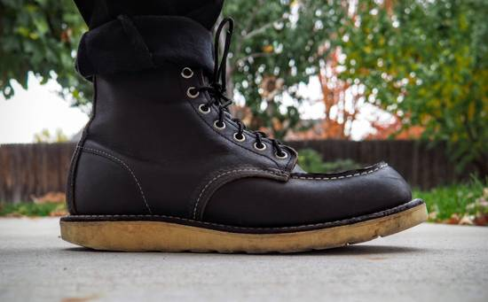 Red Wing FINAL PRICE DROP / Red Wing 9075 Classic Moc Toe Boot in Black Size US 8 / EU 41