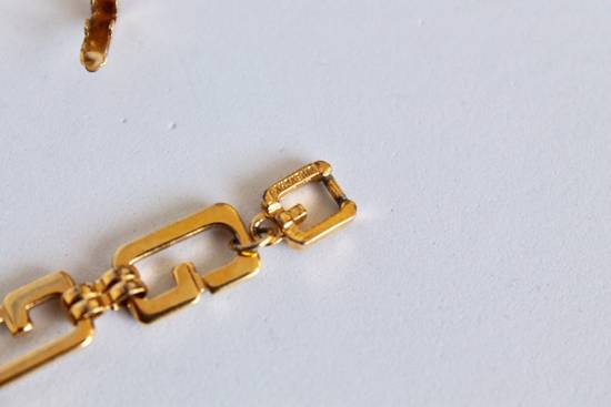 Givenchy Gold Plated Serpentine Chain Size ONE SIZE - 7