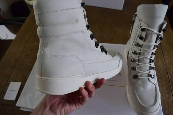 Balmain Balmain Authentic $1150 Leather White High Top Sneakers Size 11 Brand New Size US 11 / EU 44 - 3