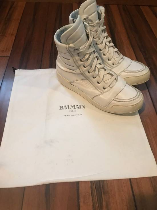 Balmain Balmain Leather High-Tops Size US 11 / EU 44 - 1
