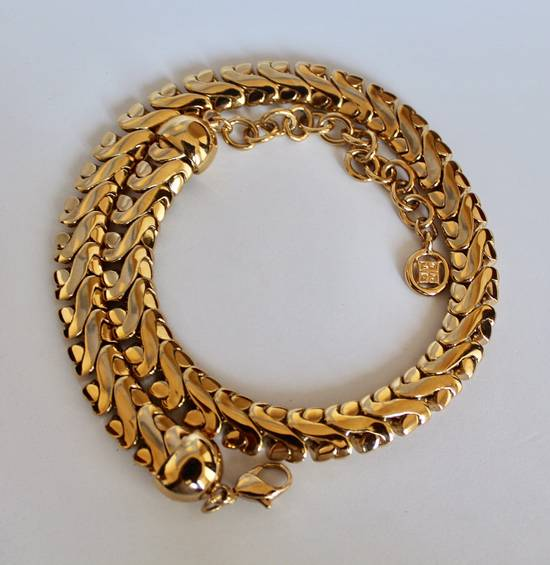 Givenchy Gold Plated Serpentine Chain Size ONE SIZE - 1