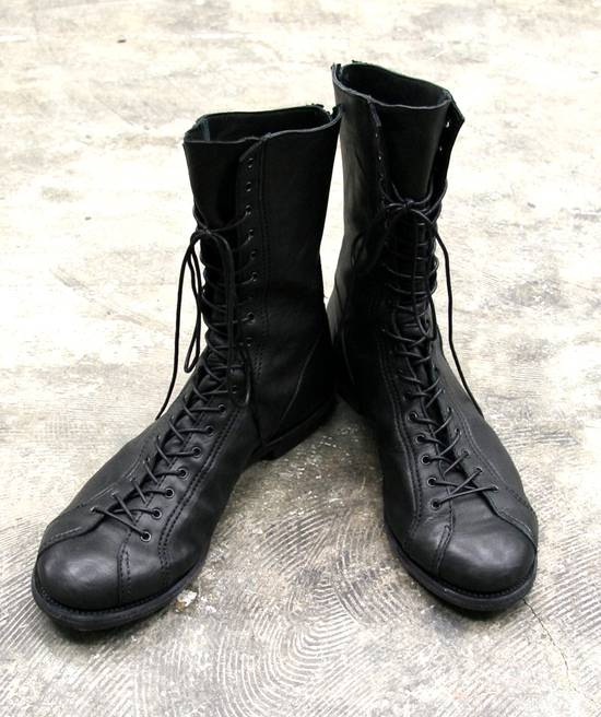 Julius Back Zip Horse Boots Sz3 Size US 11 / EU 44