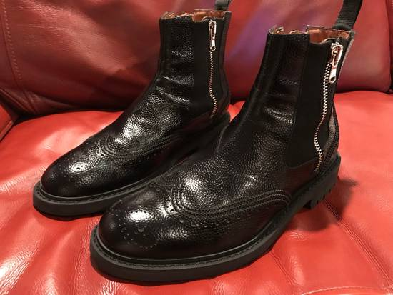 Givenchy Double Zip Wingtip Chelsea Boots Size US 9.5 / EU 42-43
